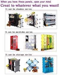 16 boxes cartoon wardrobes kids bedroom furniture make up