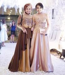 dress pesta 17 model baju pesta brokat 2018 edisi gaun blouse kebaya elegan