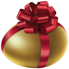 golden easter egg easter golden egg with bow png clip image gallery