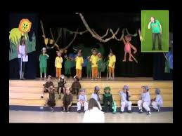 the story of the wide mouthed frog a musical play for children