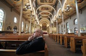 Converts initiated into Catholic Church   Lifestyles   The Times     He is converting to Catholicism  Butch Comegys   Staff Photographer Story by Josh Blu Munkee folder