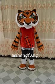 Tigress Halloween Costume Tiger Mascot Kung Fu Panda Friend Tigress Costumes Halloween