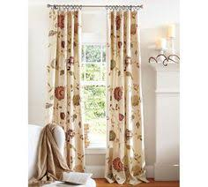 How To Hang Pottery Barn Curtains A Different Way To Treat Windows Side By Side With Two Different
