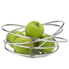 modern fruit holder black blum fruit loop wire fruit bowl holder chrome modern design