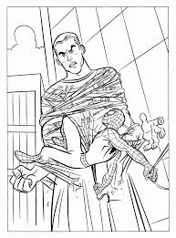 printable spiderman coloring sandman free coloring