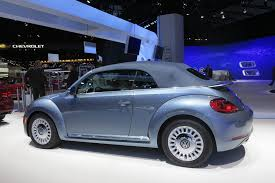 volkswagen special editions volkswagen beetle puts on denim suit for special edition model