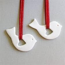 scandinavian bird ornaments decoration tag keepsake