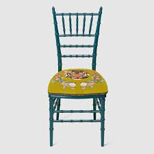 chaivari chairs chiavari chair with embroidered tiger gucci chairs 483915zaw033608