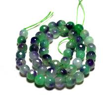 diy necklace wholesale images Wholesale faceted natural white stone dye green purple beads for jpg
