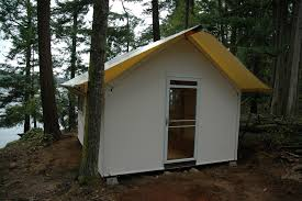 the canvas cottage rainier yurts