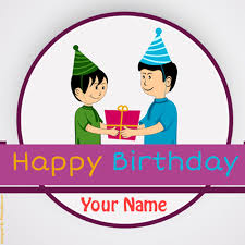 write name on happy birthday ugly and funny greeting