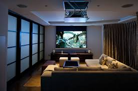 home theater interior home theater with curtains and sliding doors awesome home