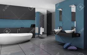 Contemporary Bathroom by Home Interior Of A Contemporary Bathroom With Modern Design And