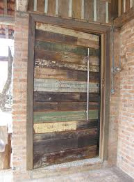 Reclaimed Wood Interior Doors How Do I Build An Frame For A Reclaimed Wood Door