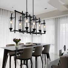 dining room candle chandelier aliexpress com buy 110v 220v american industrial art vintage