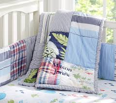 Surfer Crib Bedding Key West Baby Bedding Set Pottery Barn