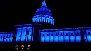 sf city hall lights san francisco city hall 100th lights and show youtube
