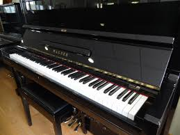 Comment Choisir Un Piano Piano Wagner W280 Silent Noir Brillant Acheter Un Piano Rouen