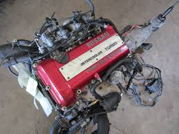 89 93 nissan silvia 200sx 240sx 2 0l turbo 4 cylinder red top