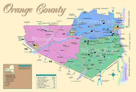 Counties In Ny State Map Map Directions Orange County York