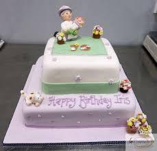 70th birthday cakes birthday cakes 70th birthday cake with gardening theme