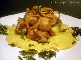 cuisiner rognons de veau curry de rognon de veau à l indienne péché de gourmandise