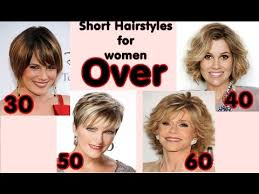 haircuts for 30 and over latest short hairstyles for women over 30 40 50 60 hairstyles