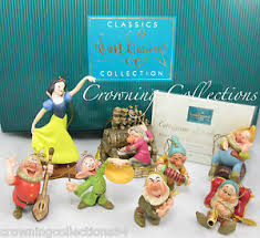 wdcc snow white and the seven dwarfs ornament set le disney