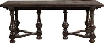 pulaski furniture p012240 dining room caldwell rectangular table base