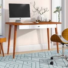 pull out table desk with pull out table wayfair