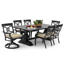 st charles 7 piece cast aluminum patio dining set free shipping