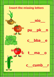 9 best vegetables flashcards colorings and worksheets images on