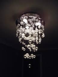 Diy Glass Bubble Chandelier I Sooo Want A Bubble Chandelier Over My Bathtub Decor Ideas