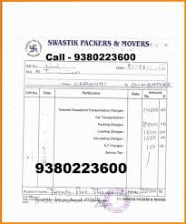 tractor bill of sale samples trailer rental invoice template