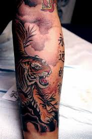 tiger japanese tattoo designs