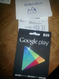 play gift card 5 play store gift card allegedly purchased at store