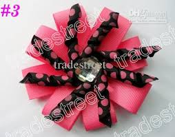 korker bows pretty baby bows 80 ps diamond flower korker hair bows layered
