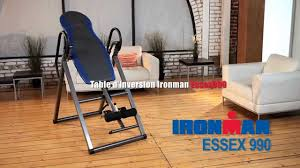 Ironman Essex 990 Inversion Table 5501 Table D U0027inversion Essex 990 De Ironman French Youtube