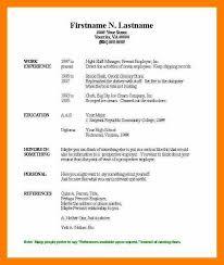 basic resume template microsoft word amitdhull co