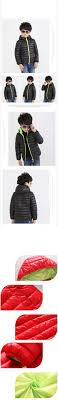 cheap 5 13 years old children jackets for boys girls winter white