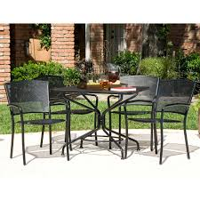 Wrought Iron Patio Chairs Costco South Bay 5 Piece Patio Dining Collection