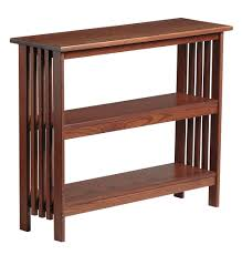 furniture oak book shelves with mission style bookcase
