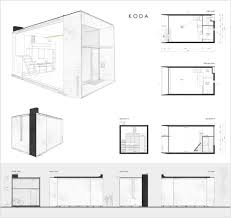 Floor Plan Front View by Gallery Of Koda Kodasema 15 Galleries House And Smallest House