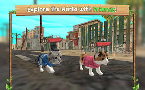 cat sim online play with cats android apps on google play