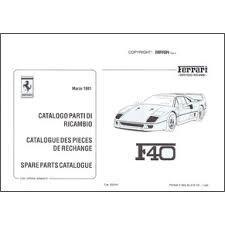 f40 parts 1991 f40 spare parts catalogue 650 91 pdf it fr uk