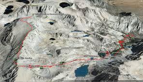 Big Sky Montana Trail Map by Mt Whitney Hike I Hike San Diego