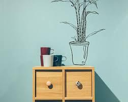 Bamboo Wall Vase Lucky Bamboo Etsy