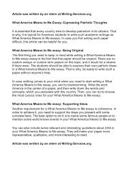 what to write a paper on what america means to me essay the american redoubt move to the essay on what does my mean order custom essay essay on what does my mean research