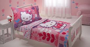 Hello Kitty Bedroom Set Twin Cheerfulness Duvet Cover White Tags Black And White Bedding