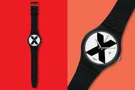 red swatch a classic swatch watch is coming back gq